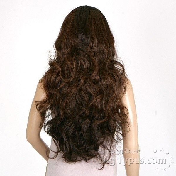 ENCOMENDA! Freetress Equal Deep Invisible L Part Lace Wig Karissa - Divas Wig