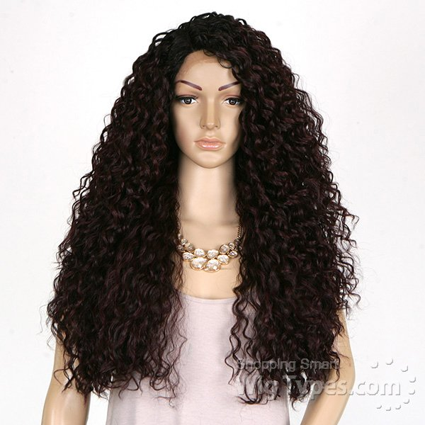 ENCOMENDA! Freetress Equal Synthetic Hair Lace Deep Invisible L Part Lace Front Wig - KITRON - comprar online