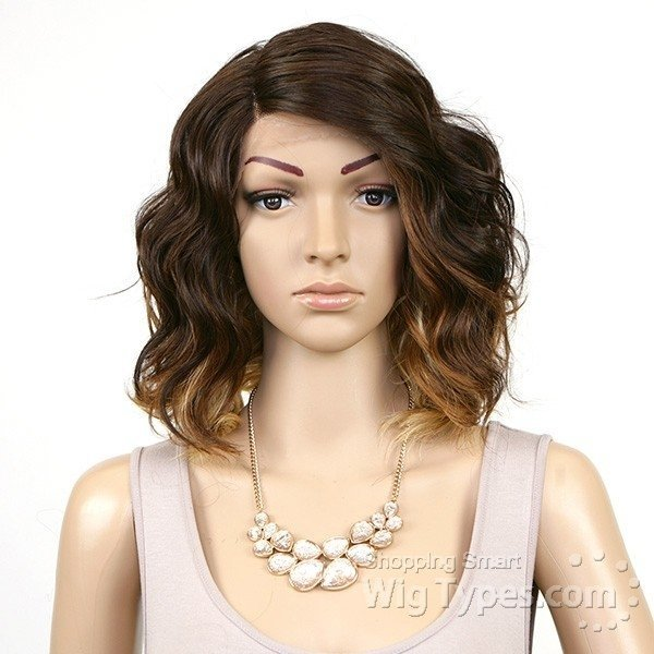 ENCOMENDA! Freetress Equal Synthetic Hair Lace Deep Invisible L Part Lace Front Wig - TAMMI