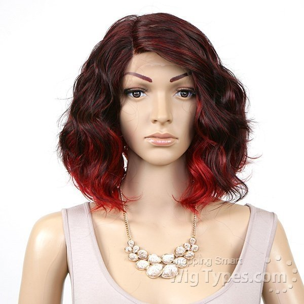 ENCOMENDA! Freetress Equal Synthetic Hair Lace Deep Invisible L Part Lace Front Wig - TAMMI - Divas Wig