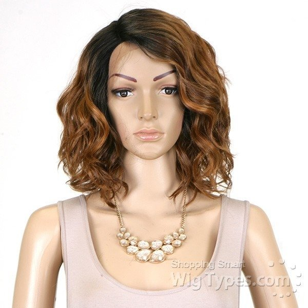 ENCOMENDA! Freetress Equal Synthetic Hair Lace Deep Invisible L Part Lace Front Wig - TAMMI - loja online