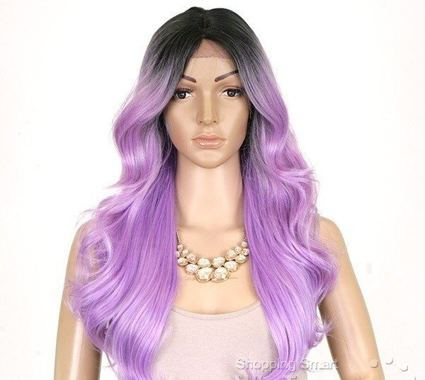 ENCOMENDA! Freetress Equal Lace Front Wig Deep Invisible Part - MACKENZIE - comprar online