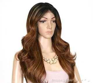 Imagem do ENCOMENDA! Freetress Equal Lace Front Wig Deep Invisible Part - MACKENZIE