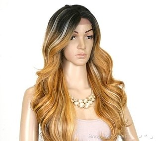 ENCOMENDA! Freetress Equal Lace Front Wig Deep Invisible Part - MACKENZIE