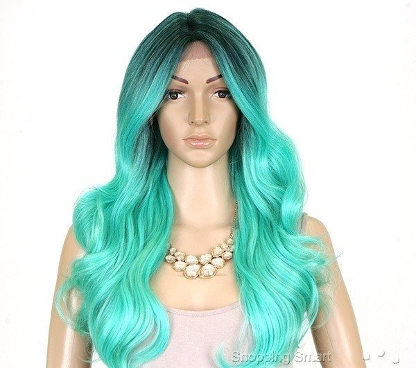 ENCOMENDA! Freetress Equal Lace Front Wig Deep Invisible Part - MACKENZIE na internet