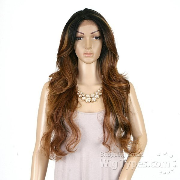 ENCOMENDA! Freetress Equal Lace Front Wig Deep Invisible Part - MIZZY - loja online