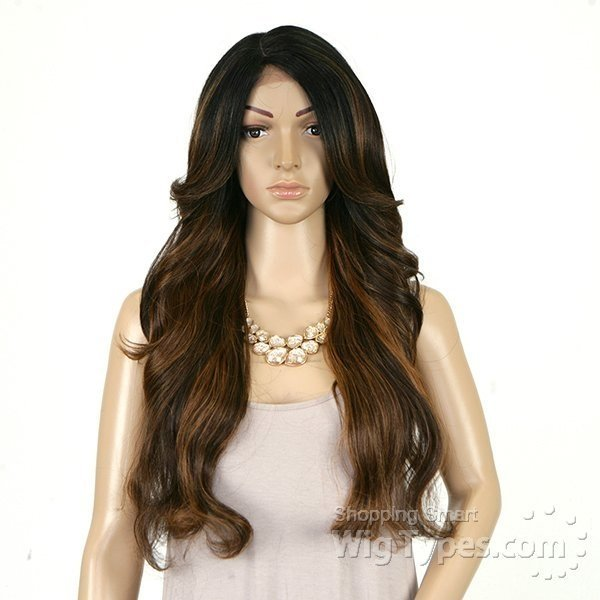 ENCOMENDA! Freetress Equal Lace Front Wig Deep Invisible Part - MIZZY - comprar online