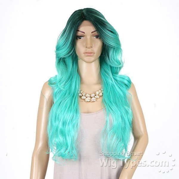ENCOMENDA! Freetress Equal Lace Front Wig Deep Invisible Part - MIZZY na internet