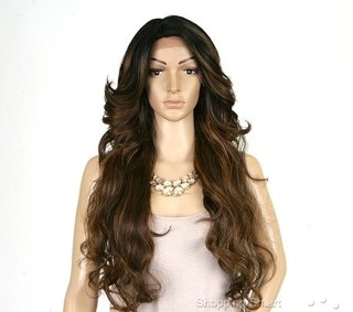 ENCOMENDA! FRONT WIG DEEP INVISIBLE PART TANZIE - loja online