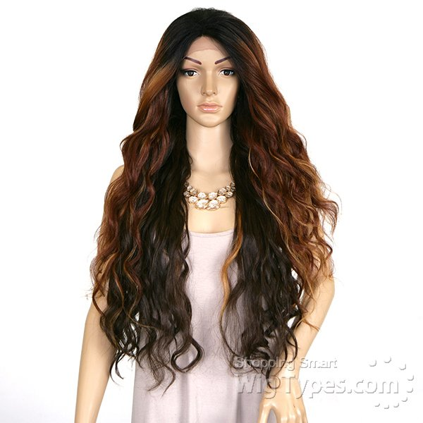 Imagem do ENCOMENDA! Freetress Equal Eternity Collection Synthetic Lace Front Wig - SWEET 31