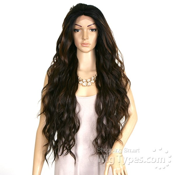 ENCOMENDA! Freetress Equal Eternity Collection Synthetic Lace Front Wig - SWEET 31 na internet