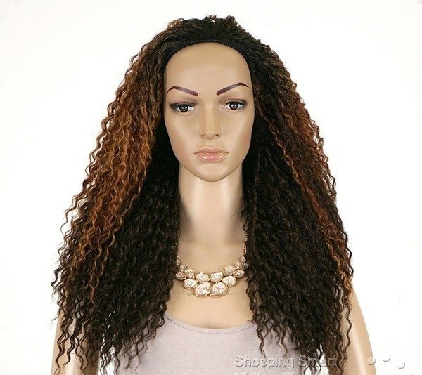 ENCOMENDA! Freetress Equal Synthetic Half Wig - DRAWSTRING FULLCAP - MILAN GIRL