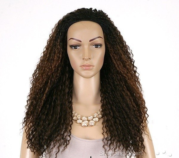 ENCOMENDA! Freetress Equal Synthetic Half Wig - DRAWSTRING FULLCAP - MILAN GIRL na internet