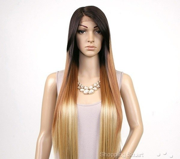 ENCOMENDA! Freetress Equal Synthetic Hair Lace Deep Invisible L Part Lace Front Wig - VIRGO - loja online