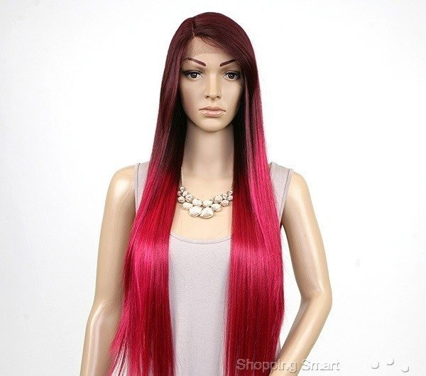 Imagem do ENCOMENDA! Freetress Equal Synthetic Hair Lace Deep Invisible L Part Lace Front Wig - VIRGO