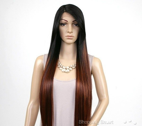 ENCOMENDA! Freetress Equal Synthetic Hair Lace Deep Invisible L Part Lace Front Wig - VIRGO