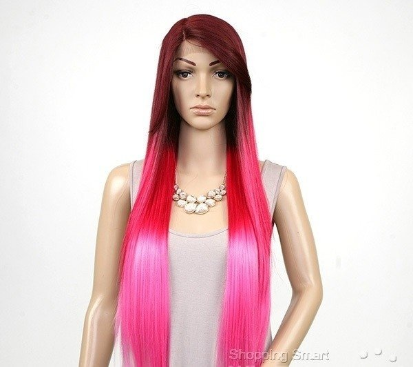 ENCOMENDA! Freetress Equal Synthetic Hair Lace Deep Invisible L Part Lace Front Wig - VIRGO - comprar online