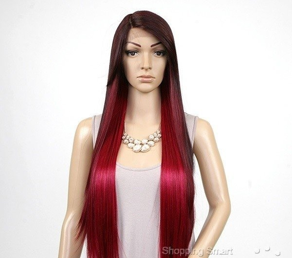 ENCOMENDA! Freetress Equal Synthetic Hair Lace Deep Invisible L Part Lace Front Wig - VIRGO na internet
