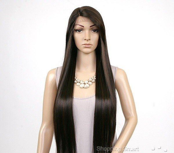 ENCOMENDA! Freetress Equal Synthetic Hair Lace Deep Invisible L Part Lace Front Wig - VIRGO - Divas Wig