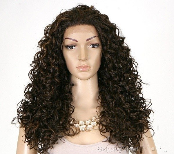 Imagem do ENCOMENDA! Freetress Equal Natural Hairline Lace Front Wig - KIMORA