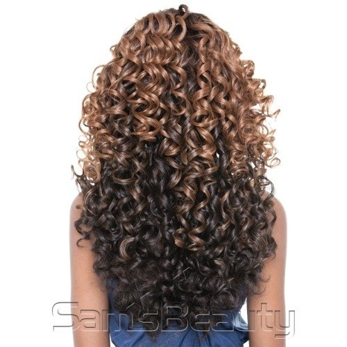 ENCOMENDA! Isis Human Hair Blend Lace Front BROWN SUGAR - BS505 VIENNA