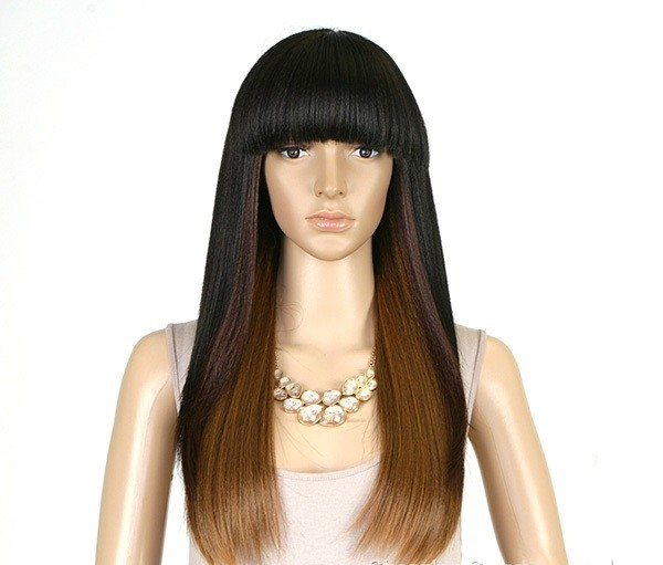 ENCOMENDA! Isis Brown Sugar Human Hair Blend Full Wig - BS103 - Divas Wig