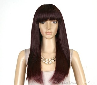 ENCOMENDA! Isis Brown Sugar Human Hair Blend Full Wig - BS103 na internet