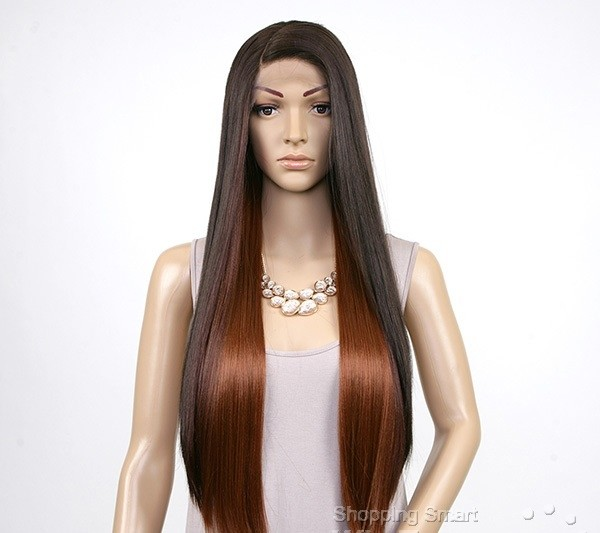 ENCOMENDA! Janet Collection Natural Super Flow Deep Part Lace Wig - DAVISA - Divas Wig