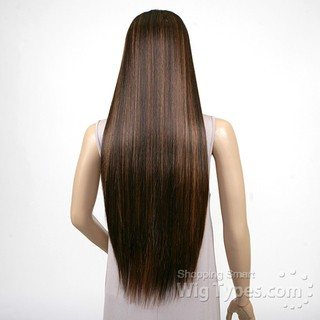 ENCOMENDA! Janet Collection Natural Super Flow Deep Part Lace Wig - DAVISA - comprar online