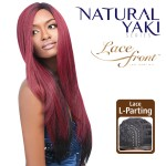 ENCOMENDA! Outre Synthetic L-Part Lace Front Wig - Natural YAKI 24 na internet