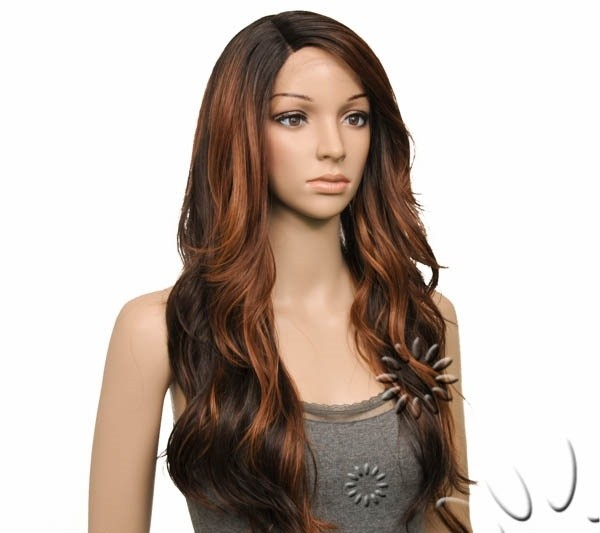 ENCOMENDA! Freetress Equal Synthetic Hair Lace Deep Invisible L Part Lace Front Wig - DANITY - Divas Wig
