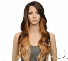 Imagem do ENCOMENDA! Freetress Equal Synthetic Hair Lace Deep Invisible L Part Lace Front Wig - DANITY