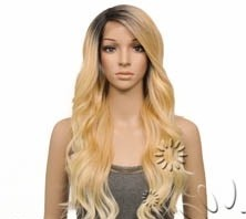 ENCOMENDA! Freetress Equal Synthetic Hair Lace Deep Invisible L Part Lace Front Wig - DANITY