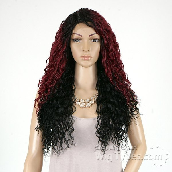 ENCOMENDA! Outre Synthetic L Part Lace Front Wig - BATIK- PERUVIAN