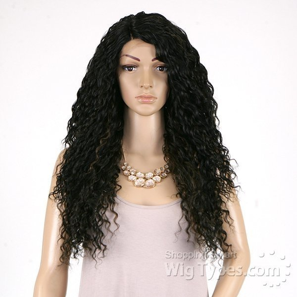ENCOMENDA! Outre Synthetic L Part Lace Front Wig - BATIK- PERUVIAN na internet