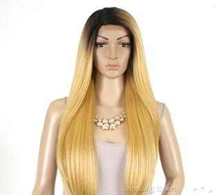 ENCOMENDA! Outre Synthetic L-Part Lace Front Wig - Natural YAKI 24 - comprar online