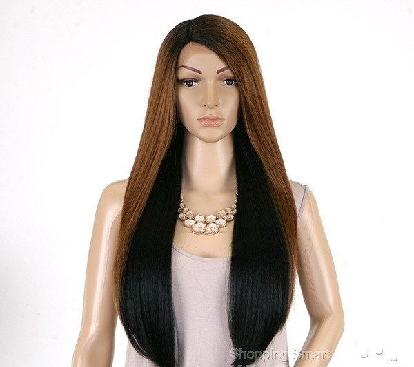 ENCOMENDA! Outre Synthetic L-Part Lace Front Wig - Natural YAKI 24 - Divas Wig