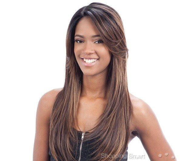 ENCOMENDA! Freetress Equal Lace Front Wig Deep Invisible Part - PATSY - Divas Wig