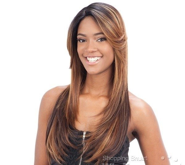 ENCOMENDA! Freetress Equal Lace Front Wig Deep Invisible Part - PATSY
