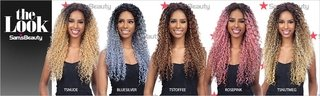 ENCOMENDA! Freetress Equal Synthetic Premium Delux Lace Front Wig - TALIA na internet