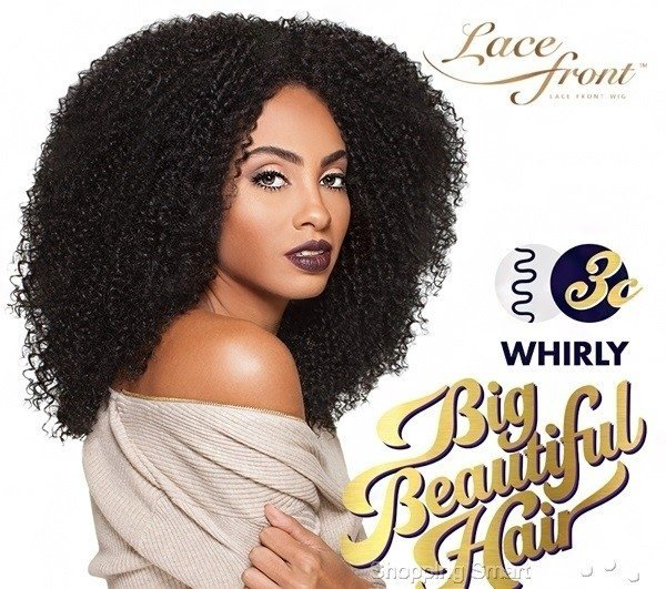 ENCOMENDA! Outre Synthetic Big Beautiful Hair Lace Front Wig - 3C WHIRLY (futura)