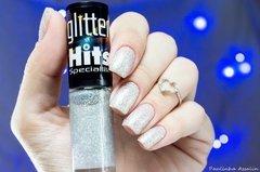 Esmalte Hits Glitter Forte Holográfico 701