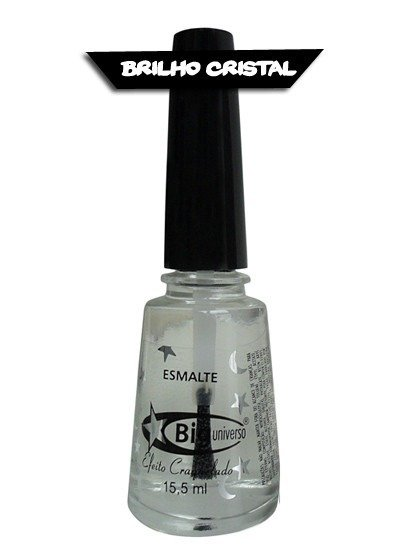 Top Coat Brilho de Cristal Big Universo 15,5ML