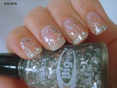 Esmalte Big Universo Orion 15,5ML - Glitter Prata