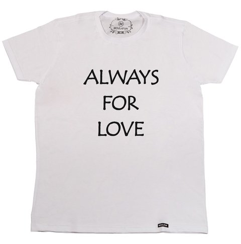 Camiseta Always for love - comprar online