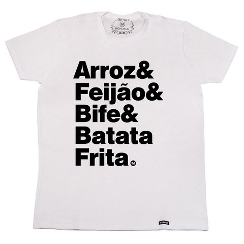 Camiseta Arroz na internet