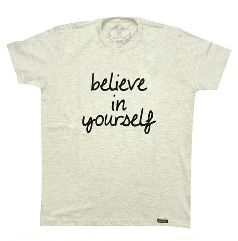 Camiseta Believe in yourself - comprar online