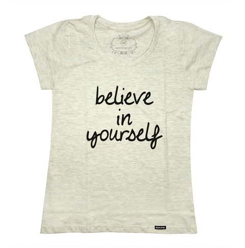 Camiseta Believe in yourself - loja online