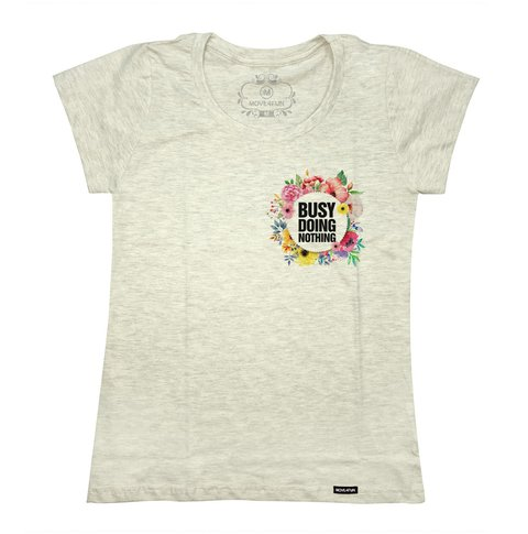 Camiseta Busy doing nothing - loja online