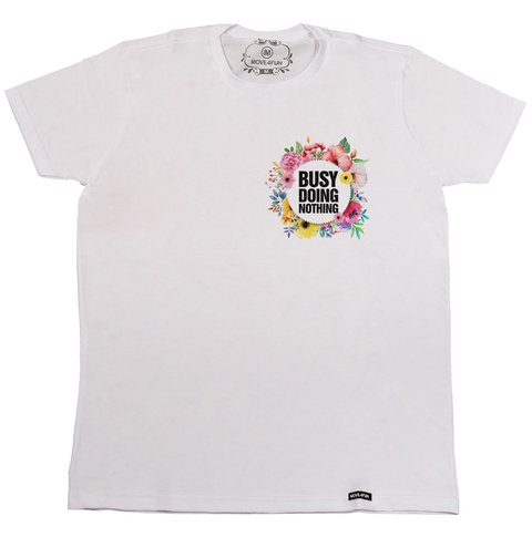 Camiseta Busy doing nothing - comprar online